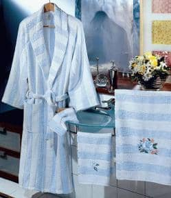 Made in Italy bath linens towels bathrobes linens for laundries, hotels