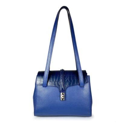 genuine leather handbag. Made in Italy
